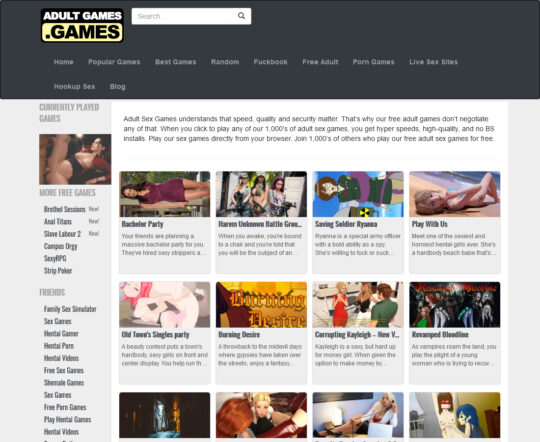 AdultGames.games